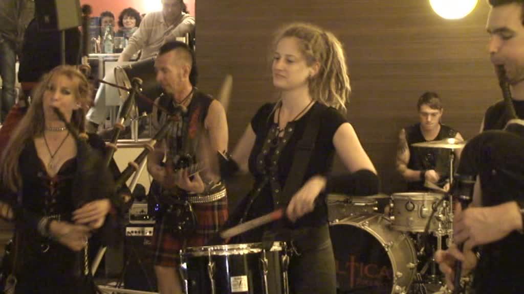 Stadtspektakel Landshut - Celtica Pipes Rock