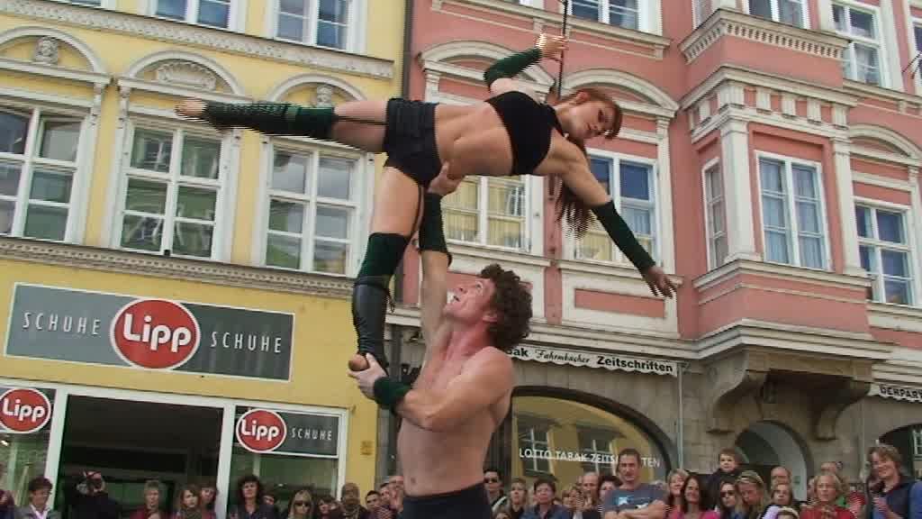 Stadtspektakel Landshut - Duo Headless